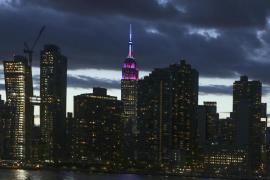 El Empire State se ilumina de azulgrana