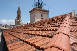 La policía detiene a un ladrón que intentaba huir por los tejados del centro de Palma