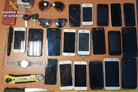 Dos detenidos por quince robos con violencia cometidos en Magaluf y Palmanova