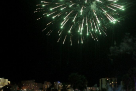 Calvià cancela los fuegos artificiales del rei En Jaume por seguridad