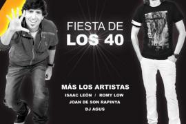 Los 40 clausuran el verano con un concierto en Santa Ponça