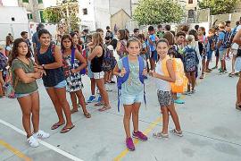 Unos 1.250 alumnos inician el curso escolar en Sóller, un día lectivo antes que en el resto de la Isla