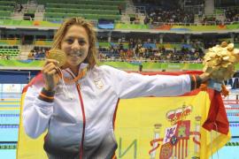 La española Nuria Marqués logra el oro en los 400 metros libres