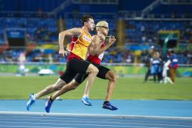 El mallorquín Joan Munar, cuarto en los 400 metros T12