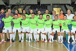 El Palma Futsal, que alarga su progresión, se estrena ante su afición
