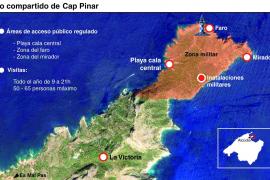 Medi Ambient y Defensa acuerdan compartir el uso del Cap de Pinar en Alcúdia