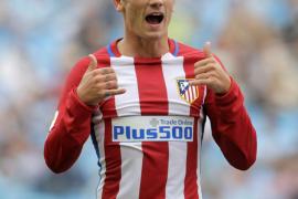 El Atlético de Madrid golea al Celta y se anota su primer triunfo en Liga