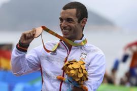 Jairo Ruiz se cuelga el bronce en el estreno paralímpico del triatlón