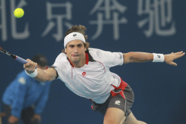 Ferrer vence a Ljubicic y se cita con Djokovic en la final de Pekín