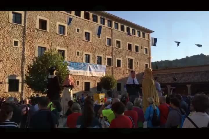 Unas 7.000 personas participan en la tradicional Pujada a Lluc a Peu de la Part Forana
