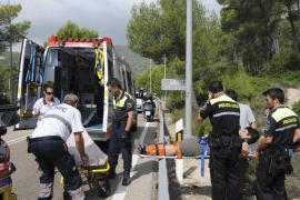 Rescatada una excursionista que sufrió una caída en es Camp de Mar