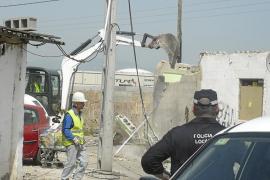 Un juez ordena iniciar el desalojo del poblado chabolista de Son Banya