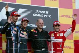 Alonso termina  tercero y mantiene intactas sus opciones