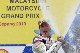 Toni Elías termina  cuarto y se proclama campeón del mundo de Moto2