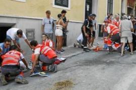 La joven embestida por un caballo en Menorca evoluciona favorablemente