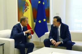 Rajoy obvia la Diada y el 'caso Soria' en la reunión del Grupo Popular