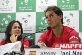 Nadal: «Esta vez puedo estar con España y estoy feliz de poder representarla»