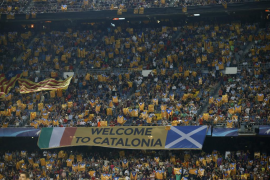 Otra multa amenaza al Barcelona por la exhibición de esteladas