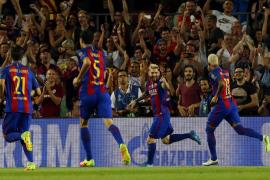 Estreno barcelonista a lo grande en la Champions