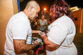 Sant Antoni se vuelca con 'Júnior' en el partido a beneficio del joven en coma