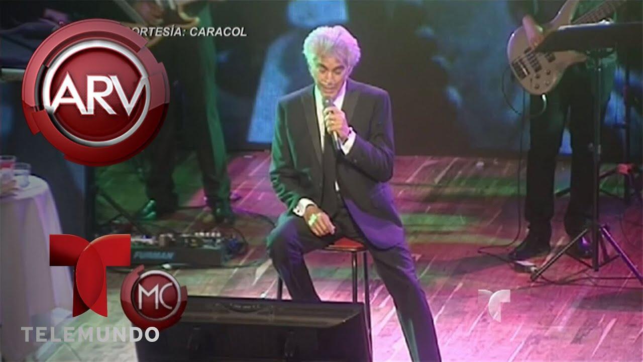 'El Puma' canta con una bomba de oxígeno en su último concierto