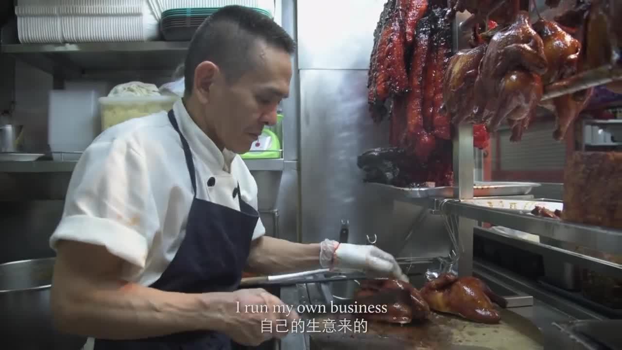 Un vendedor de comida ambulante de Singapur logra una estrella Michelin gracias a un plato que cuesta un euro y medio