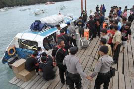 Una turista muerta y 20 heridos, entre ellos un español en estado grave, al incendiarse un ferry en Bali