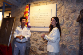 Homenaje a Jaume Ensenyat en Sóller