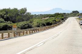 La carretera de Cap Blanc, más segura para cicloturistas