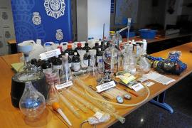 Desmantelado en Palma el mayor laboratorio de drogas de síntesis descubierto en Balears