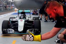 Rosberg logra la 'pole' en Singapur, donde Sainz saldrá sexto y Alonso noveno