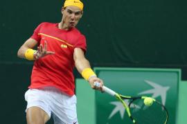 Nadal y López, en dobles, sellan la vuelta de España al grupo mundial de la Copa Davis