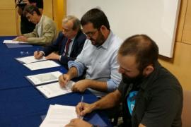 Convenio entre Endesa, el Govern y el GOB para la custodia de una finca de la Albufera