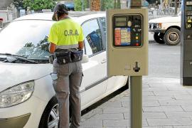 Los agentes de la ORA ponen cada día una media de 447 denuncias en Palma