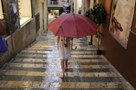 Este miércoles, tormentas localmente fuertes en Balears