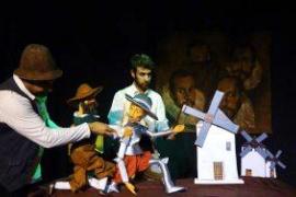 'Las aventuras de Sancho y Quijote' visitan el Teatre Sans