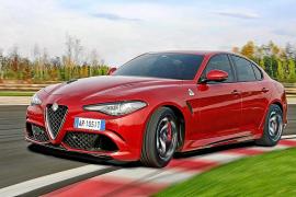 Alfa Romeo Giulia Quadrifoglio con transmisión automática de 8 velocidades