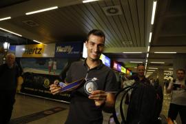 El flamante campeón del mundo de triatlón Mario Mola asegura en Palma que «la clave fue resistir»