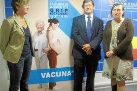 La Conselleria de Salut dispone de 185.000 vacunas contra la gripe
