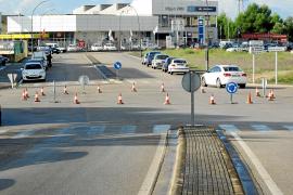 Una rotonda pone fin a los problemas de tráfico en los accesos al polígono