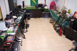La Guardia Civil de Manacor expondrá los objetos incautados procedentes de delitos contra el patrimonio