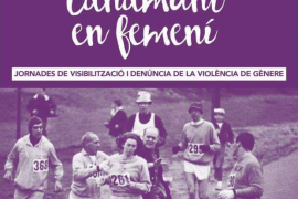Canamunt en Femení, jornadas contra la violencia machista