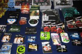 Dos detenidos relacionados con la distribución de marihuana sintética en Palma