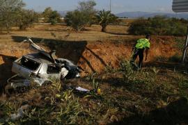 Accidente en la autopista de Inca