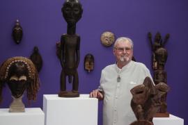 El príncipe Henrik de Dinamarca expone sus esculturas en Andratx