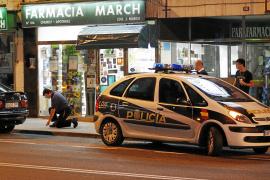 Detenidos los atracadores que dispararon durante el asalto de la farmacia de Portopí