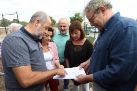 Armengol anuncia en Pòrtol la construcción de una nueva residencia para personas dependientes