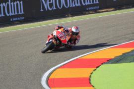 Márquez sentencia con autoridad la mejor clasificación en Aragón, donde Lorenzo saldrá tercero
