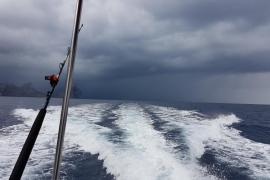 Fuertes lluvias en Mallorca