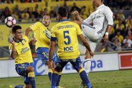 El Real Madrid se deja dos puntos en Las Palmas